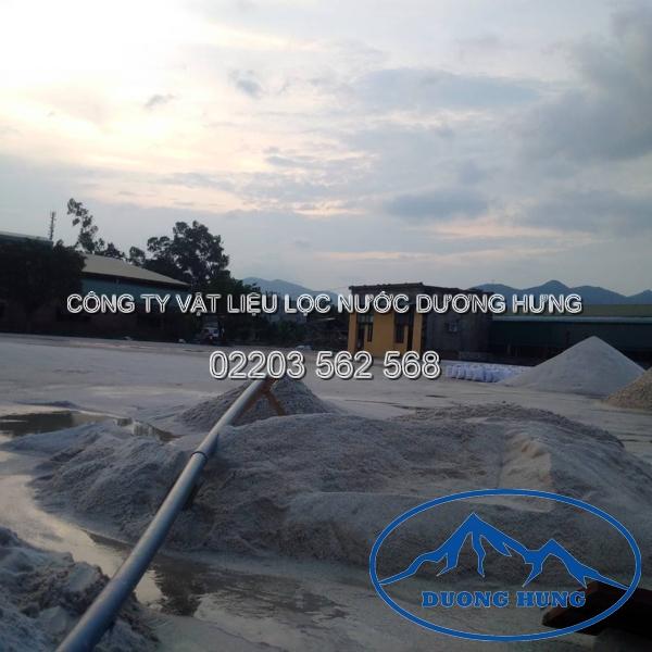 cát sỏi lọc nước