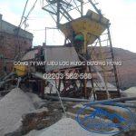 Hệ thống tuyển cát Dương Hưng cát sỏi lọc nước