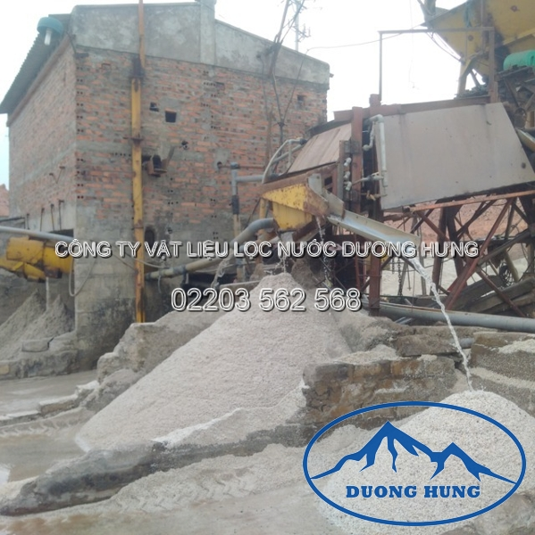 xưởng tuyển cát lọc nước